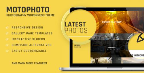 Motophoto - Portfolio Photography Theme