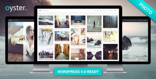 Oyster - Creative Photo WordPress Theme