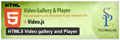 HTML5 Video Gallery and Player