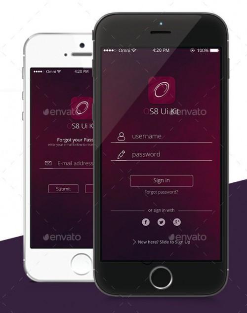 OS8 Style App Ui