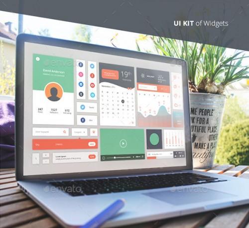 UI Kit of Widgets