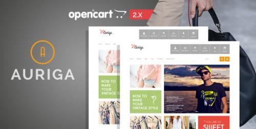Auriga - Fashion Responsive OpenCart Theme