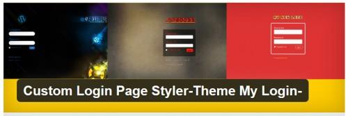 Custom Login Page Styler Theme My Login