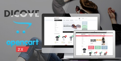 Dicove - Fashion Responsive OpenCart Theme