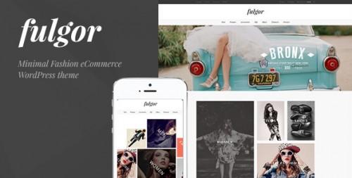Fulgor - Fashion WooCommerce WordPress Theme