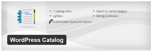 WordPress Catalog