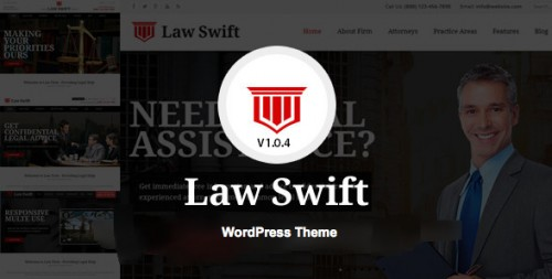 LawSwift - Lawyer and Attorney Business WP Theme