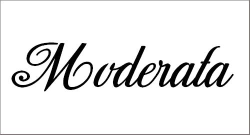 Moderata Personal Use Font
