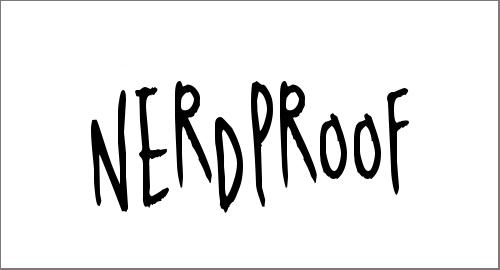 Nerdproof Font