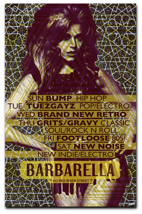 12_Weekly Events at Barbarella Austin