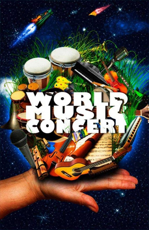 12_World Music Concert Poster