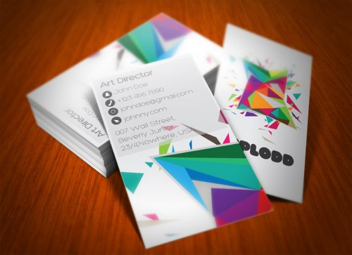 14_Color Explosion Business Card
