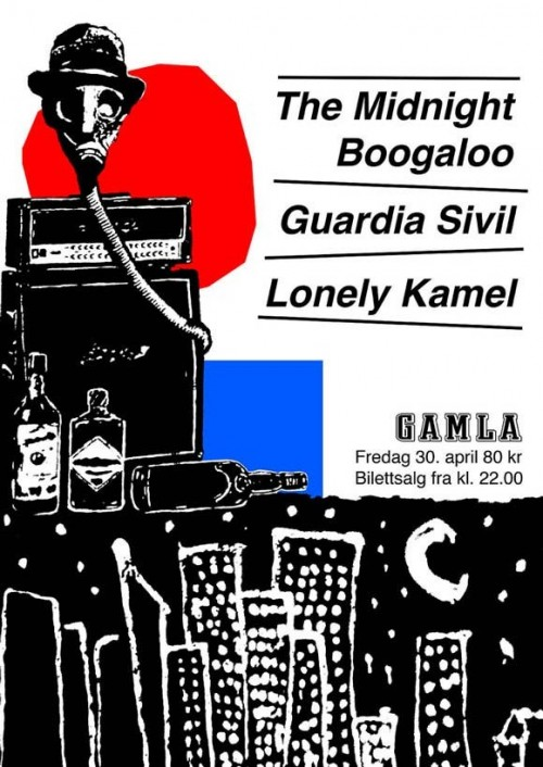 15_Concert Poster for Midnight Boogaloo