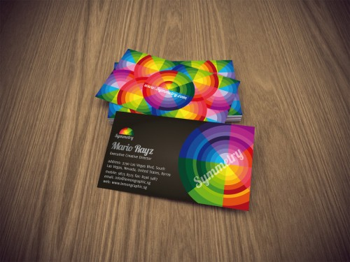 15_Symmetry Business Card