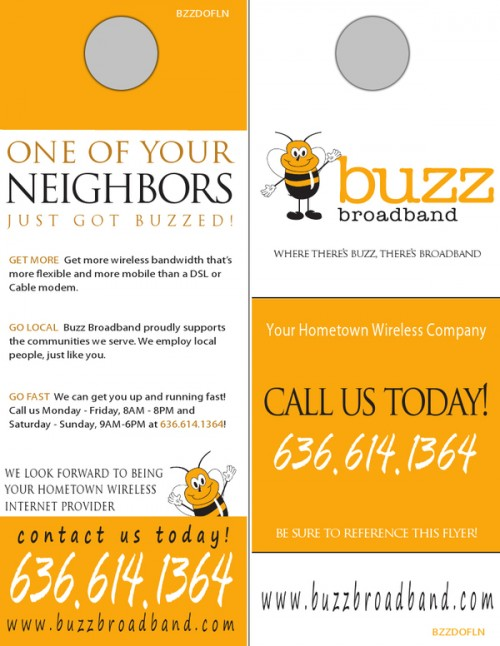 16_Buzz Broadband Door Hangers