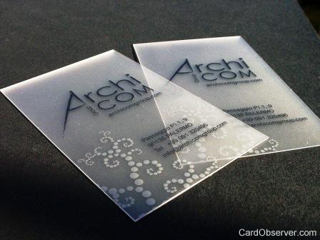 17_Transparent Business Card
