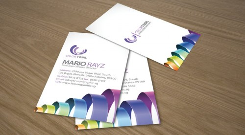 18_Color Twirl Business Card