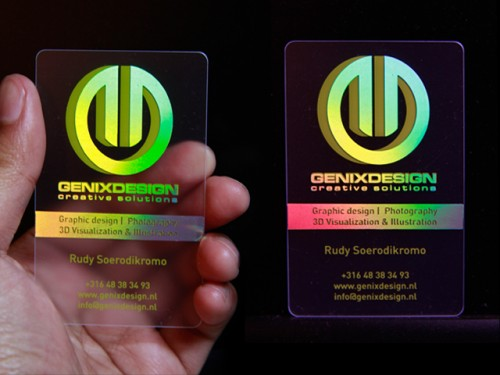 18_Coolest Holographic BusinessCard