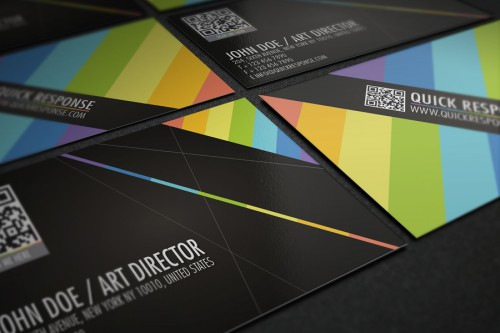 19_QR Quick Response Business Card Design