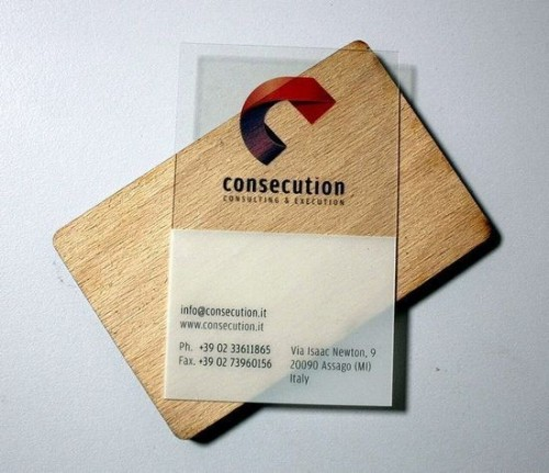 20_Transparent Business Cards