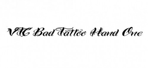 24_VTC Bad Tattoo Hand One