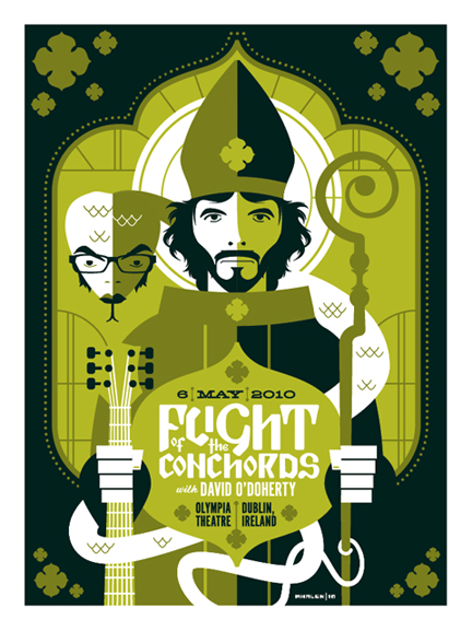 30_Flight Of The Conchords Poster