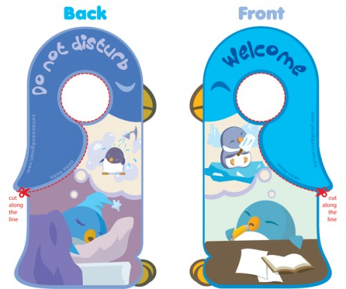 4_Penguin Door Hanger