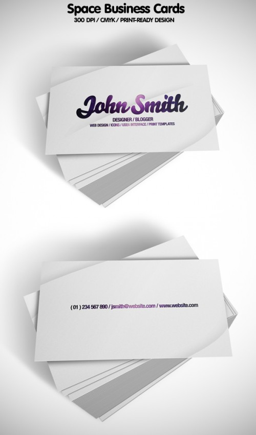 5_Space Business Cards