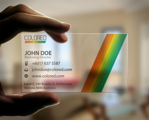 7_Stripe Business Card