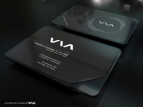 8_Via Business Card