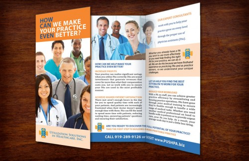 7_Medical Consulting Tri-Fold Brochure