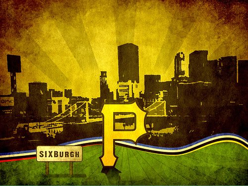 5_Pittsburgh Pirates Grunge Wallpaper