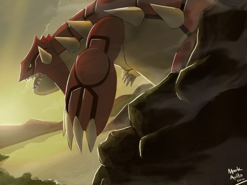 9_Pokemon Groudon