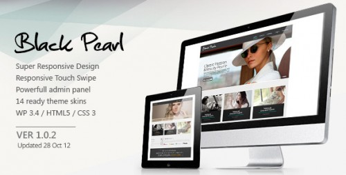 10_Black Pearl - Responsive Wordpress Theme