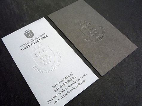 12_Three Four Three Business Cards