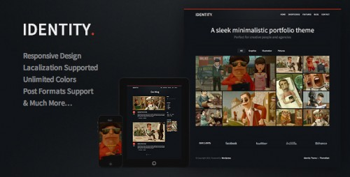 19_Identity - Responsive WordPress Theme