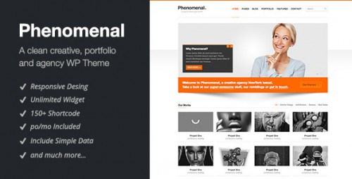 1_Phenomenal - Responsive WordPress Theme