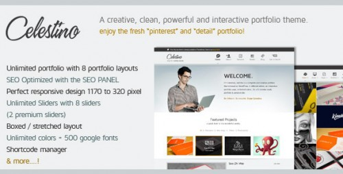 21_Celestino - Clean and Creative Portfolio Theme