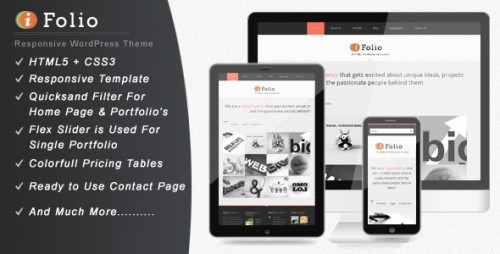 24_iFolio - Clean WordPress CMS Portfolio Theme
