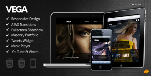 2_VEGA - WordPress Responsive Theme