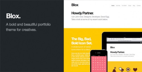 30_Blox - Bold WordPress Portfolio Theme