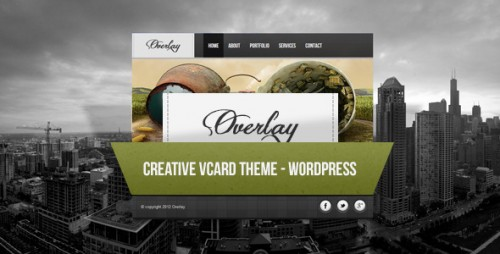 33_Overlay - Creative Wordpress Vcard