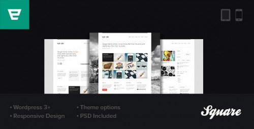 35_Square - Responsive Wordpress Theme