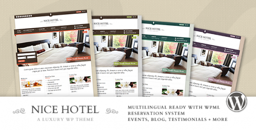 3_Nice Hotel - WordPress Theme