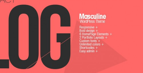 45_Masculine - Responsive WordPress Theme