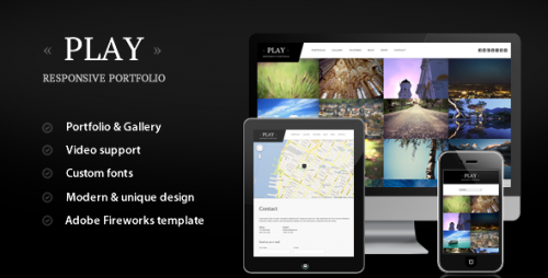 47_Play - Responsive Portfolio for WordPress