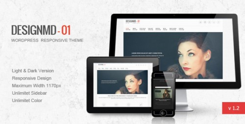 48_Designmd 01 - Responsive Wordpress Theme