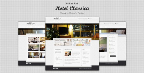 4_Hotel Classica - Clean Minimalist WordPress Theme