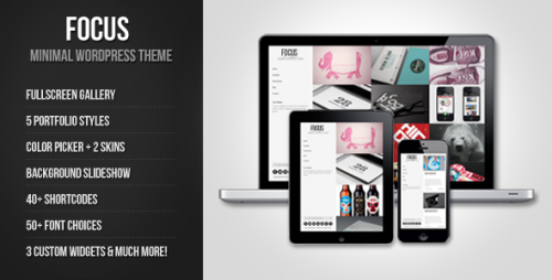 5_Focus - Minimal WordPress Theme