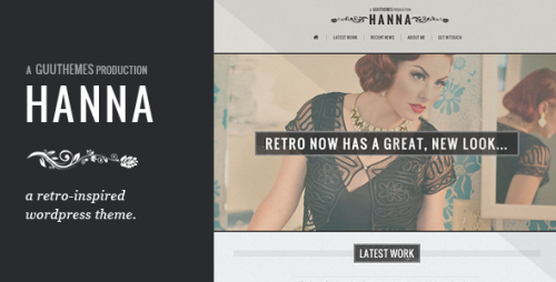 6_Hanna - Responsive Retro WordPress Theme